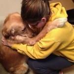 Pas i devojčica